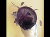 Suzie Mahony Designs Purple Headpiece